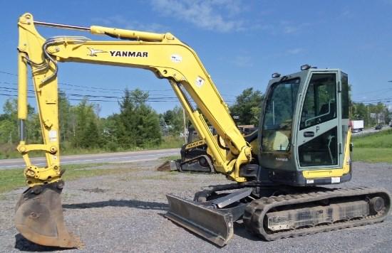 Yanmar VIO80 Excavator-Mini