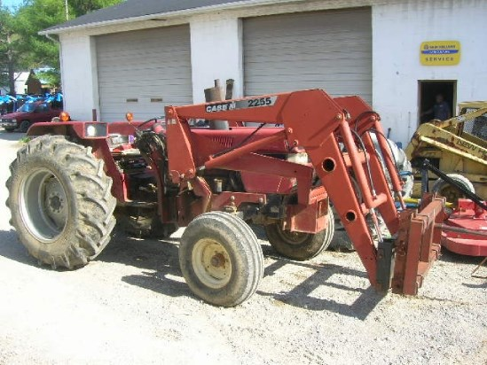 1991 Case IH 595 W/2255 LDR Tractor For Sale