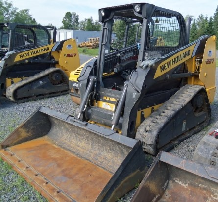 2011 New Holland C227 Skid Steer-Track For Sale