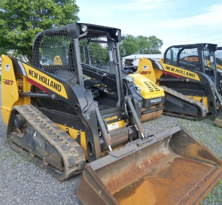 2012 New Holland C227 Skid Steer-Track For Sale