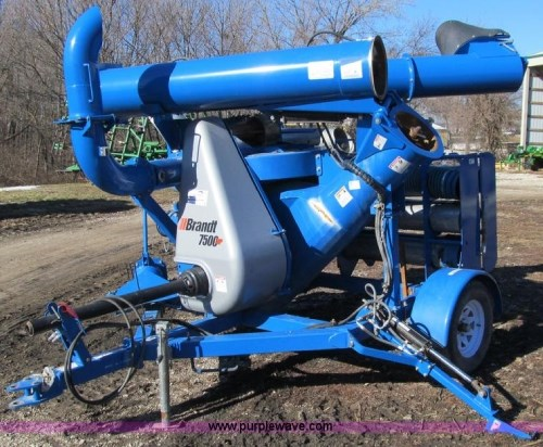 Brandt 7500HP Grain Vac For Sale