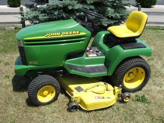 1997 John Deere 345 Riding Mower For Sale