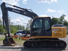 Excavator-Track For Sale:  2012 John Deere JD120D , 93 HP