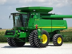 Combine For Sale 2008 John Deere 9870S , 440 HP