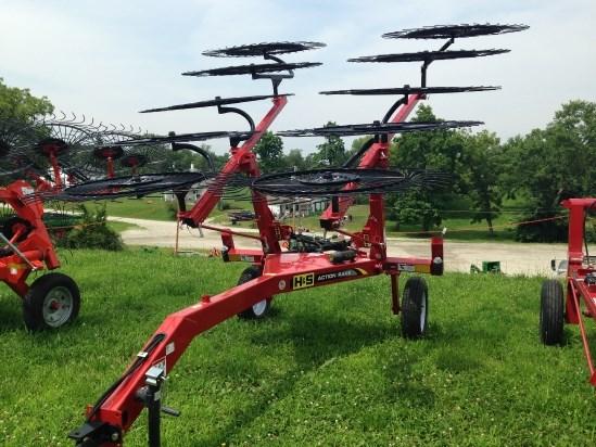 2013 H & S AR1061 Hay Rake-Wheel For Sale