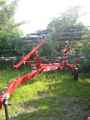 2014 H & S AR1261 Hay Rake-Wheel For Sale