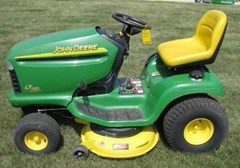 Riding Mower For Sale 2002 John Deere LT160 , 16 HP