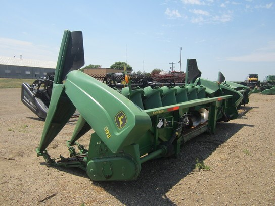2006 John Deere 893 Header-Corn For Sale