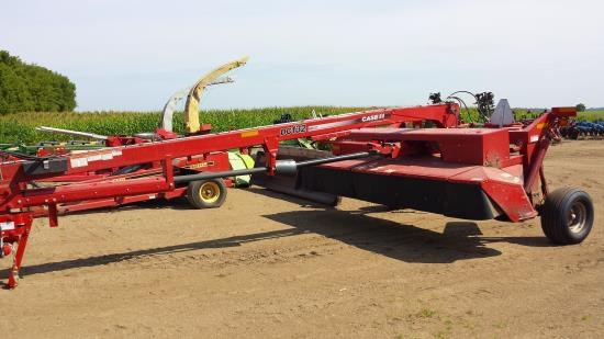 2012 Case DC132 Mower Conditioner For Sale
