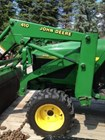 Tractor For Sale:  2002 John Deere 4110 , 20 HP