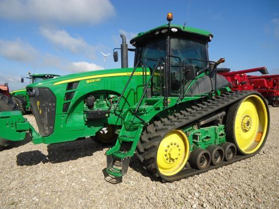 2010 John Deere 8320 RT Tractor For Sale