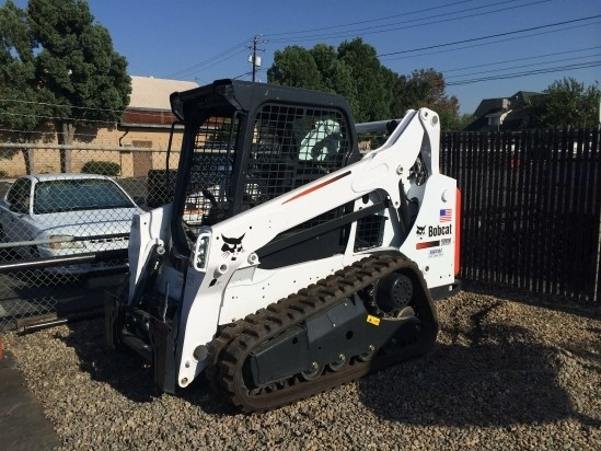 2017 Bobcat T590 Skid Steer-Track For Sale
