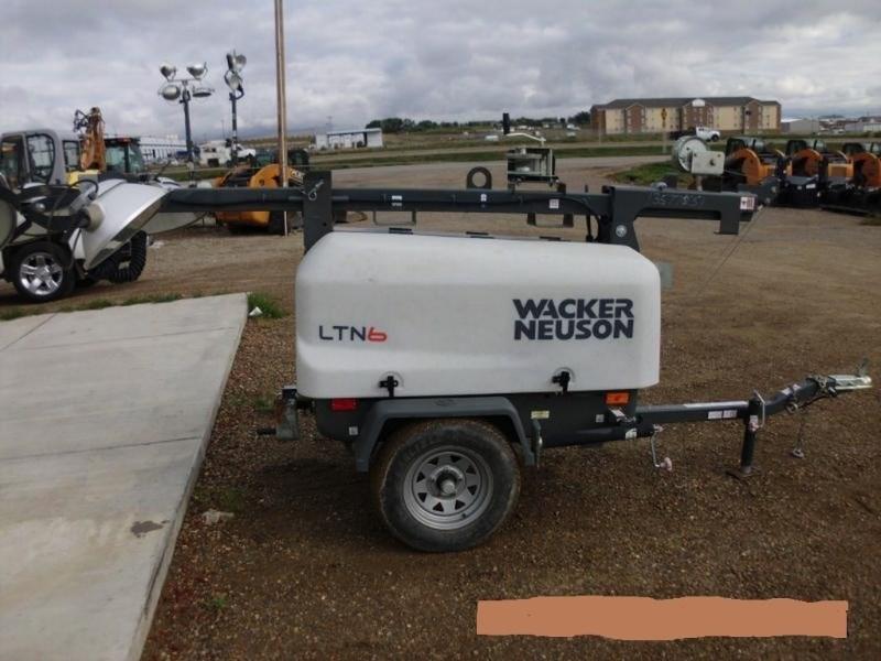 2012 Wacker LTN6L, 2281 Hr, 30' Mast, 32 Gal Tank, Diesel Torres de luz a la venta