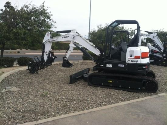 2014 Bobcat E45 Tier 4 Excavator-Mini For Sale