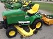 Riding Mower For Sale:  1998 John Deere 445