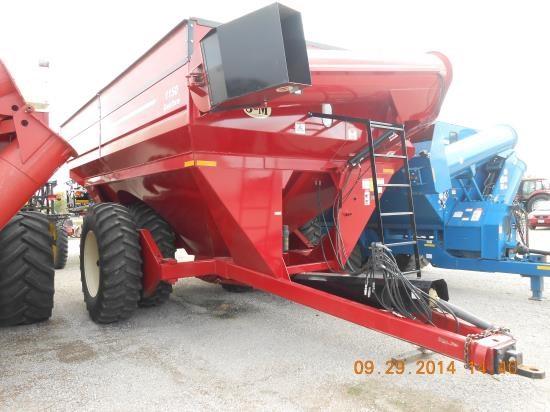 2008 J & M 1150-22D Grain Cart For Sale