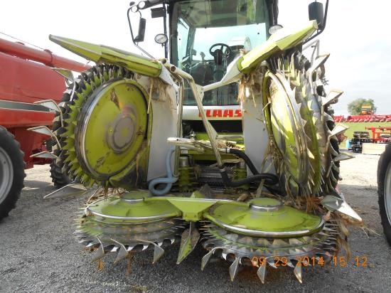 2007 Claas ORBIS 600 Forage Head-Row Crop For Sale