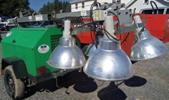 Light Tower For Sale:  2008 Terex RL4000