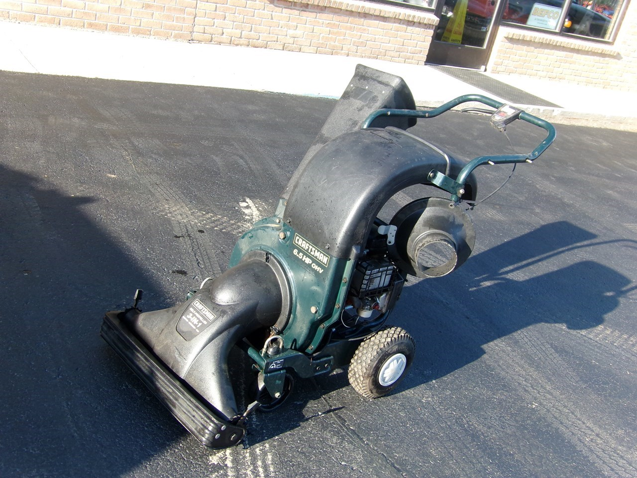 Craftsman 6.5 Chipper-Self Propelled For Sale