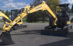 Excavator-Mini For Sale:  2014 Yanmar VIO45 6A , 39 HP