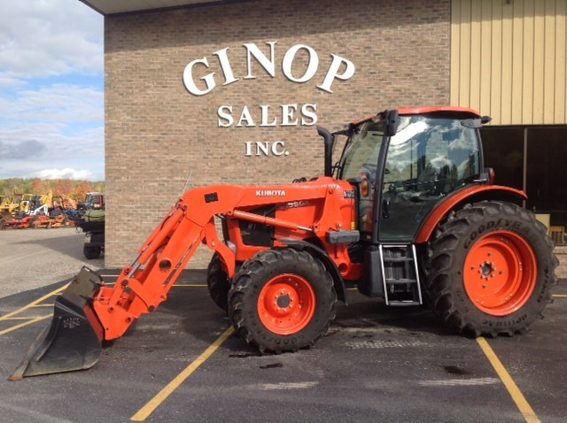 2012 Kubota M135GXDTS Tractor For Sale