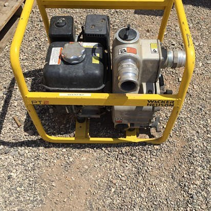 2011 Wacker PT2A Water Pump