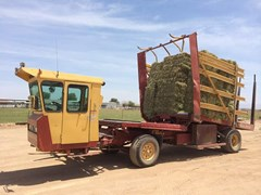 Bale Wagon-Self Propelled For Sale:  2001 New Holland 1095