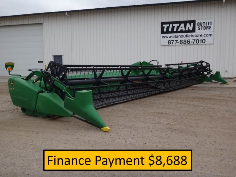 2013 John Deere 640FD, 40', Fits JD9760/9870/New JD