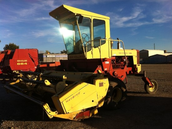 1990 New Holland 1499 Windrower-Self Propelled For Sale