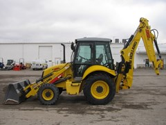 Loader Backhoe For Sale:  2013 New Holland B95C , 95 HP