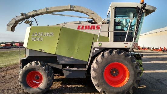 2002 Claas 900 Forage Harvester-Self Propelled For Sale