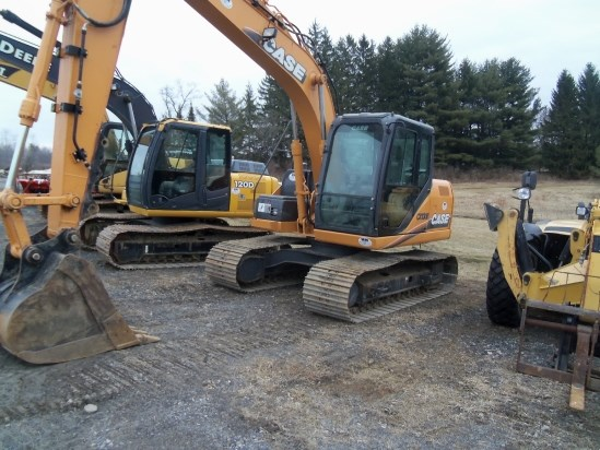 2011 Case CX130B Excavator-Track For Sale