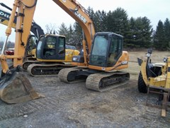 Excavator-Track For Sale:  2011 Case CX130B