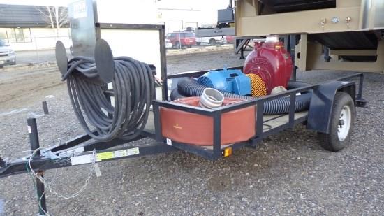 2014 Pioneer ES6012HO, 50' Discharge Hose, 150' Elec Cord Bombas de agua a la venta