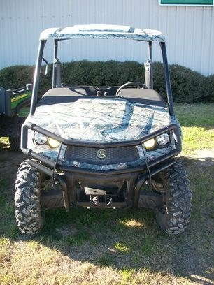 2011 John Deere XUV 550 CAMO Utility Vehicle For Sale