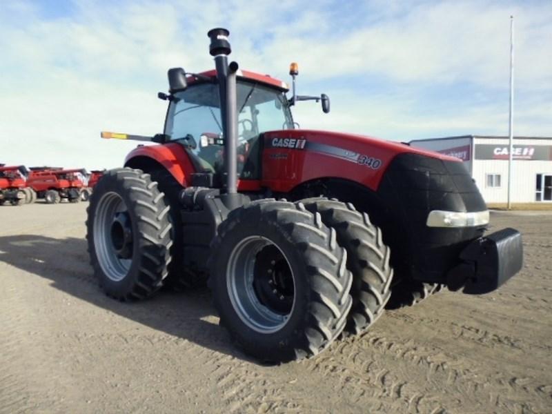 2012 Case IH 340, 2340 Hr, 1000 PTO, Lux Cab, 5 Rem, Leather Tractores a la venta