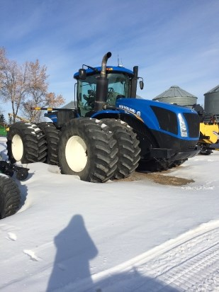2011 New Holland T9.505 Tractor For Sale