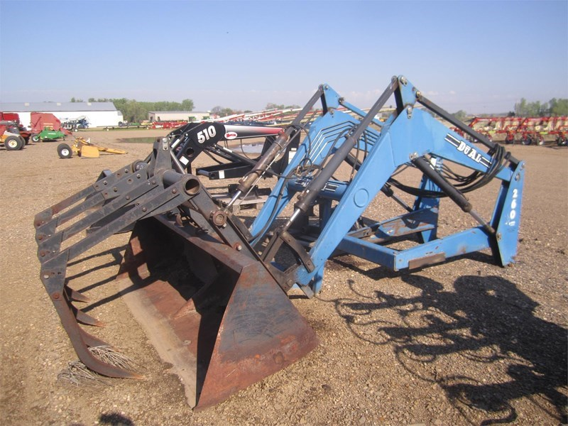 2002 Dual 260 Front End Loader Attachment For Sale