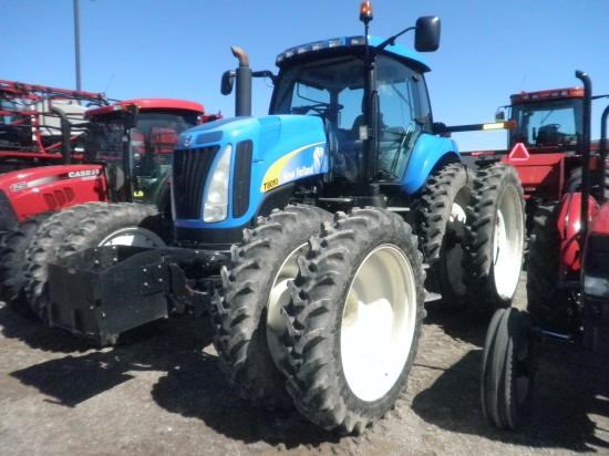 2008 New Holland T8010 Tractor For Sale