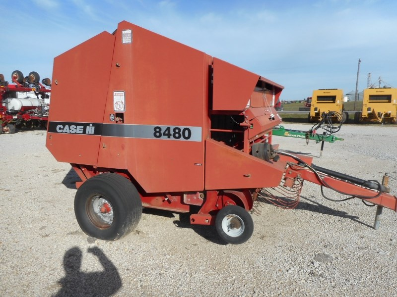 1997 Case IH 8480 Baler-Round For Sale