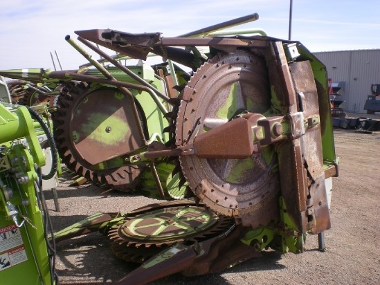 1999 Claas RU450 Forage Head-Row Crop For Sale