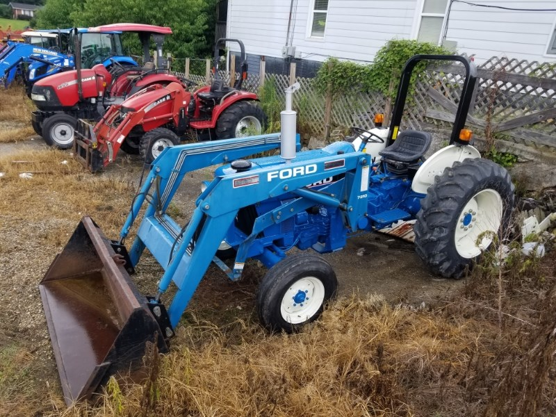 1991 Ford 3930 W/7310 LDR Tractor For Sale