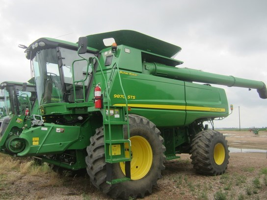 2011 John Deere 9870 STS Combine For Sale