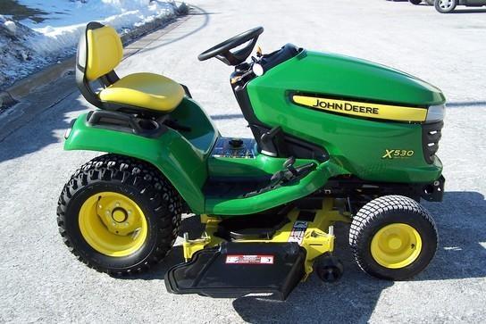 John Deere X530 Lawn Tractor : John deere riding mower for sale roeder