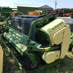 Forage Head-Windrow Pickup For Sale 2009 Krone EF 3801