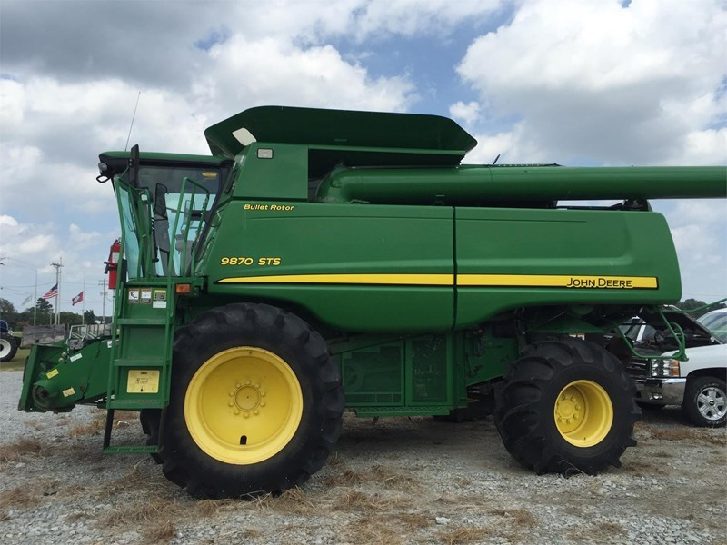2008 John Deere 9870 STS Combine For Sale