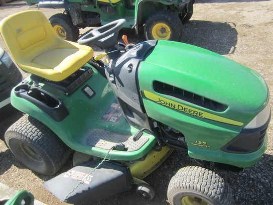 2006 John Deere 135 Riding Mower For Sale