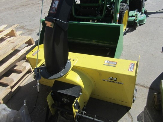 2012 John Deere 44 Snow Blower For Sale