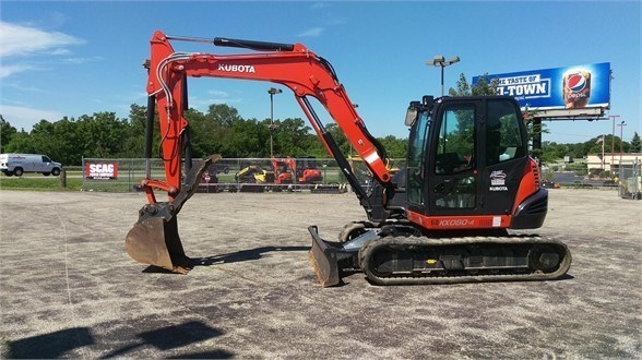 2014 Kubota KX080-4 Excavator-Track For Sale