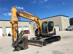 Excavator-Track  2014 Hyundai ROBEX 145 LCRD-9A , 119 HP